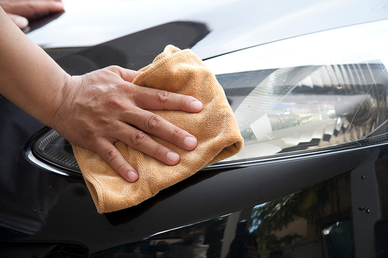 Headlight restoration services from Downtown Car Wash Groton