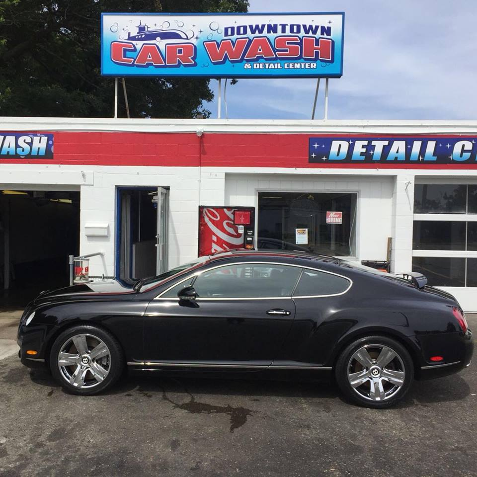 Contact Downtown Car Wash Groton for more information on packages and appointments